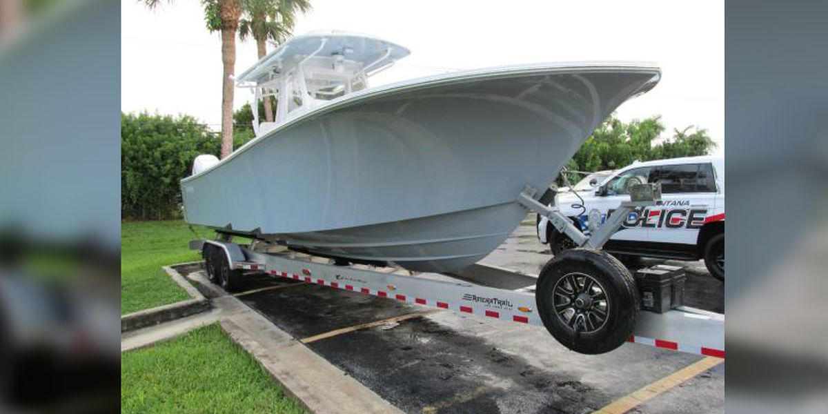 $350K boat stolen from Wilmington marina recovered in Florida