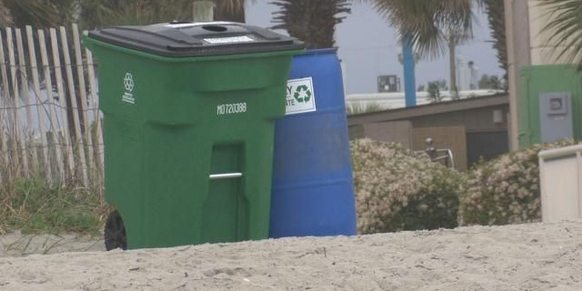 Myrtle Beach awarded $40,000 grant to expand beach recycling efforts