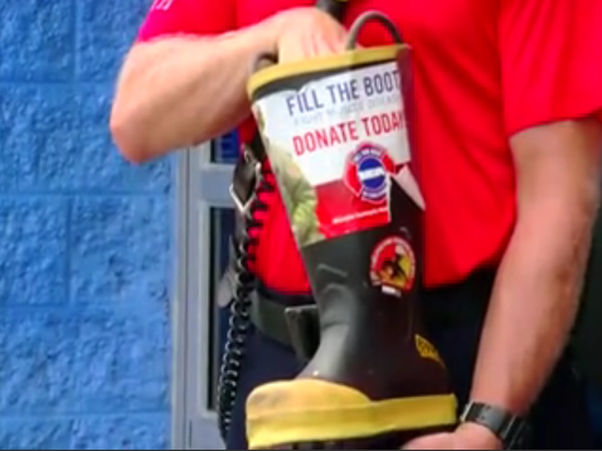 Myrtle Beach Fire Department asks community to 'Fill The Boot' virtually to help MDA