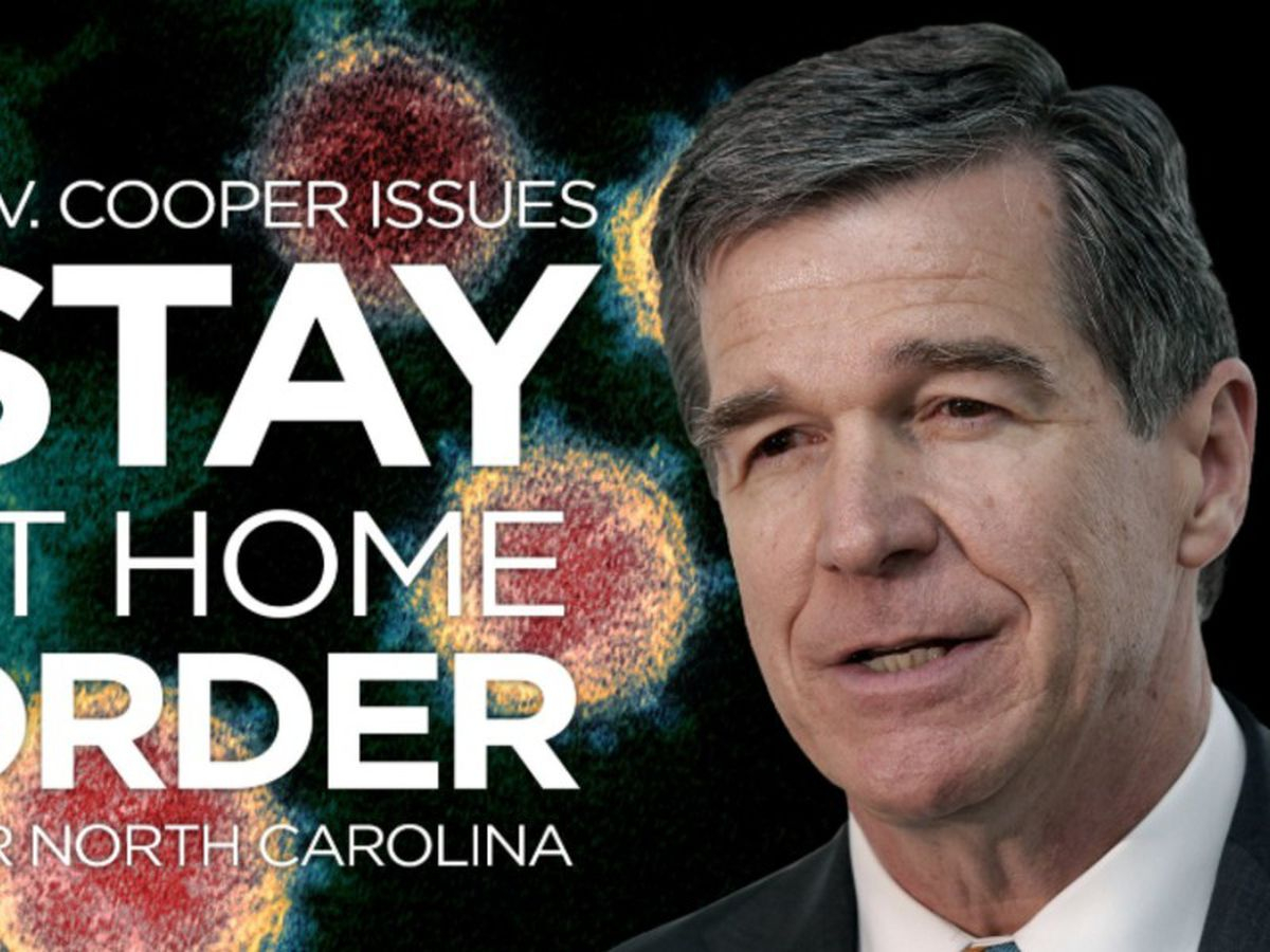 Statewide 'stay at home' order goes into effect for North Carolina today