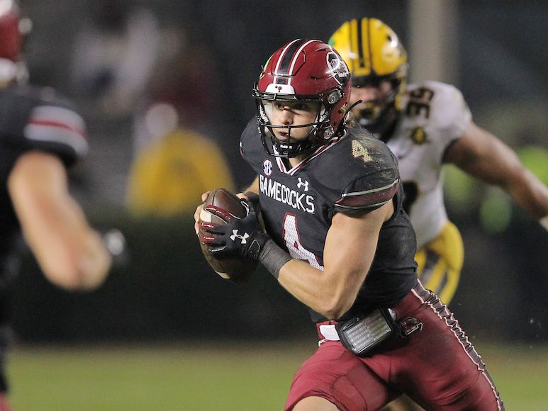 FAIR CATCH: Doty provides energy for sputtering Gamecocks' offense in second half