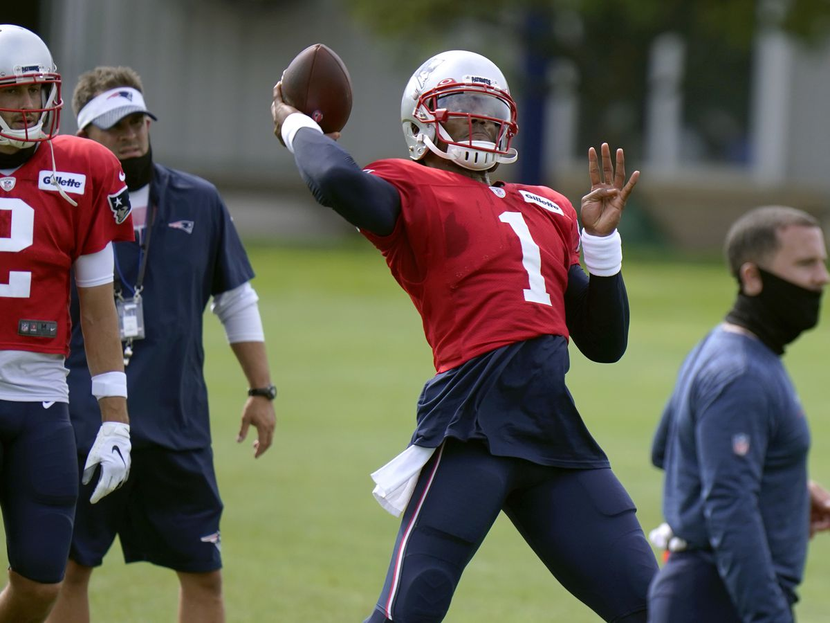 Newton humbled after being named Patriots starting QB