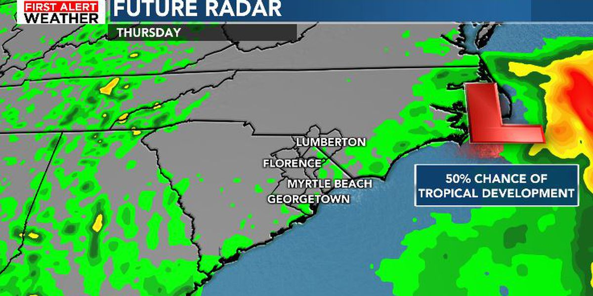 FIRST ALERT: Heavy rain and downpours continue today