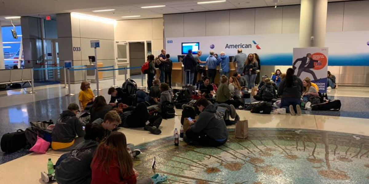 Horry County students Beijing-bound after weather and customer service confusion forces overnight delay
