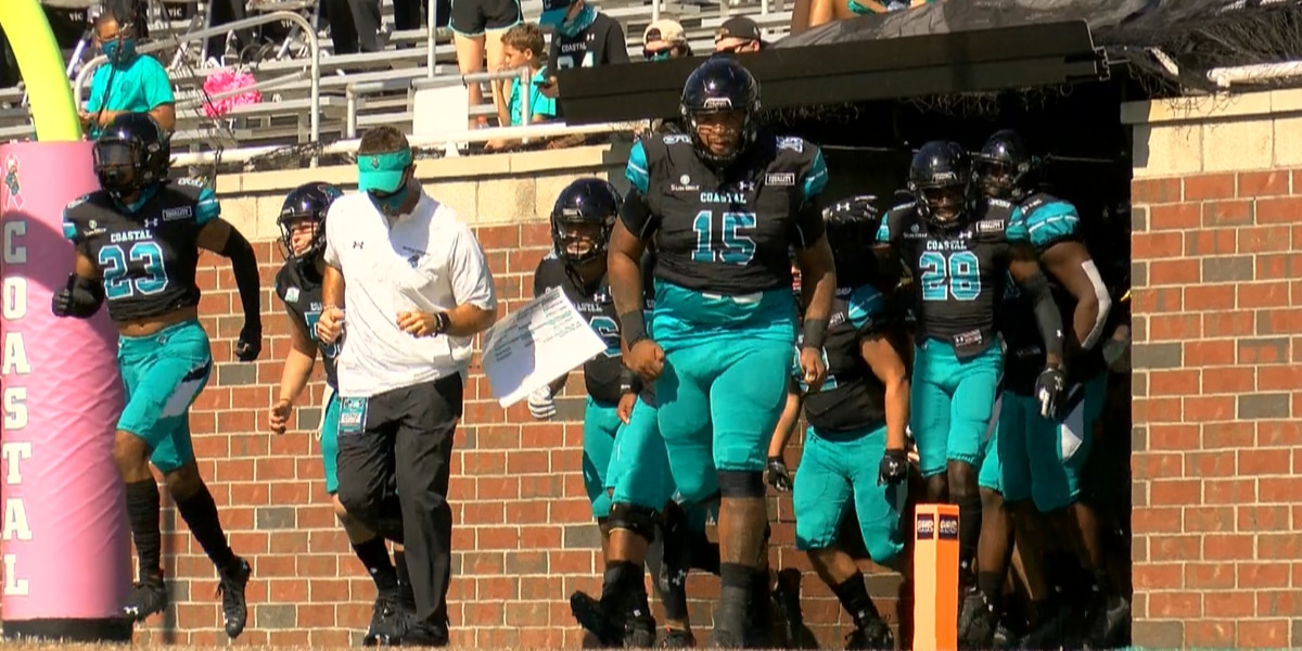 Coastal Football finishes the season ranked No. 14 nationally