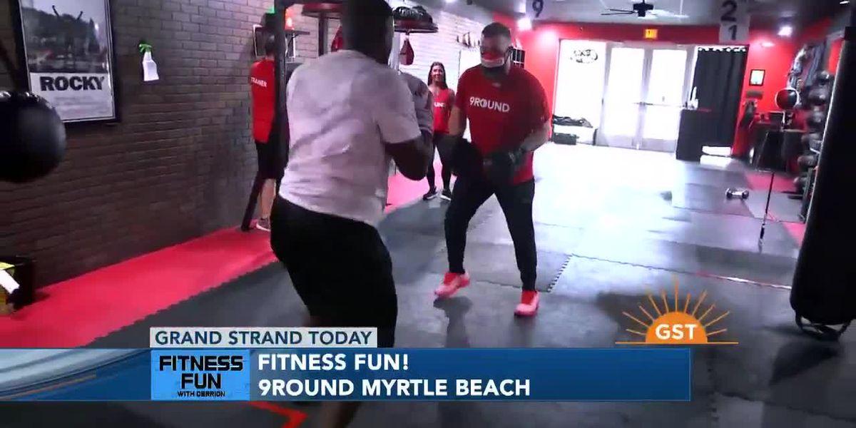 Fitness Fun with Derrion at 9ROUND Myrtle Beach