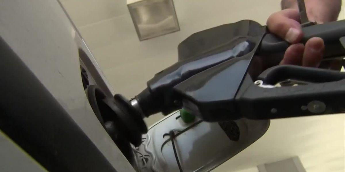 Gas prices continue their steady climb
