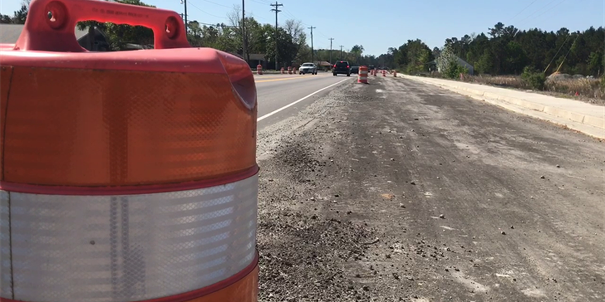 Hwy. 707 widening project delayed by Hurricane Matthew, Hwy. 31 project on time