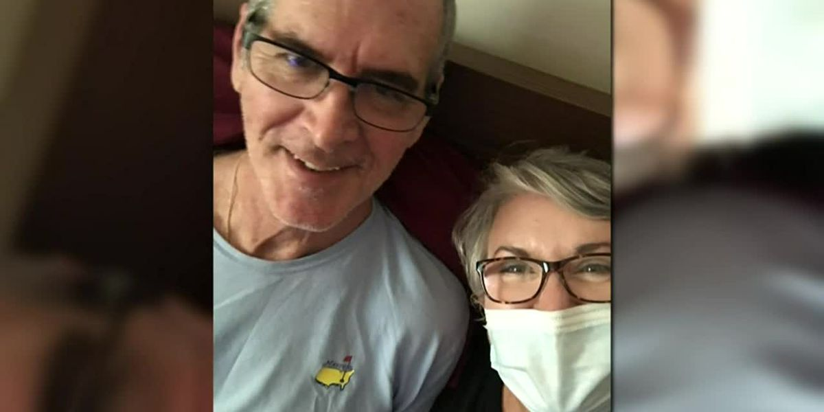 To see husband in long-term care home during pandemic, woman gets job at facility