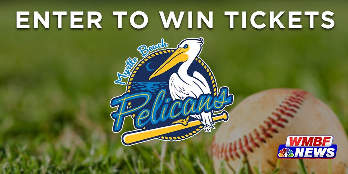 Win Tickets to Myrtle Beach Pelicans games!