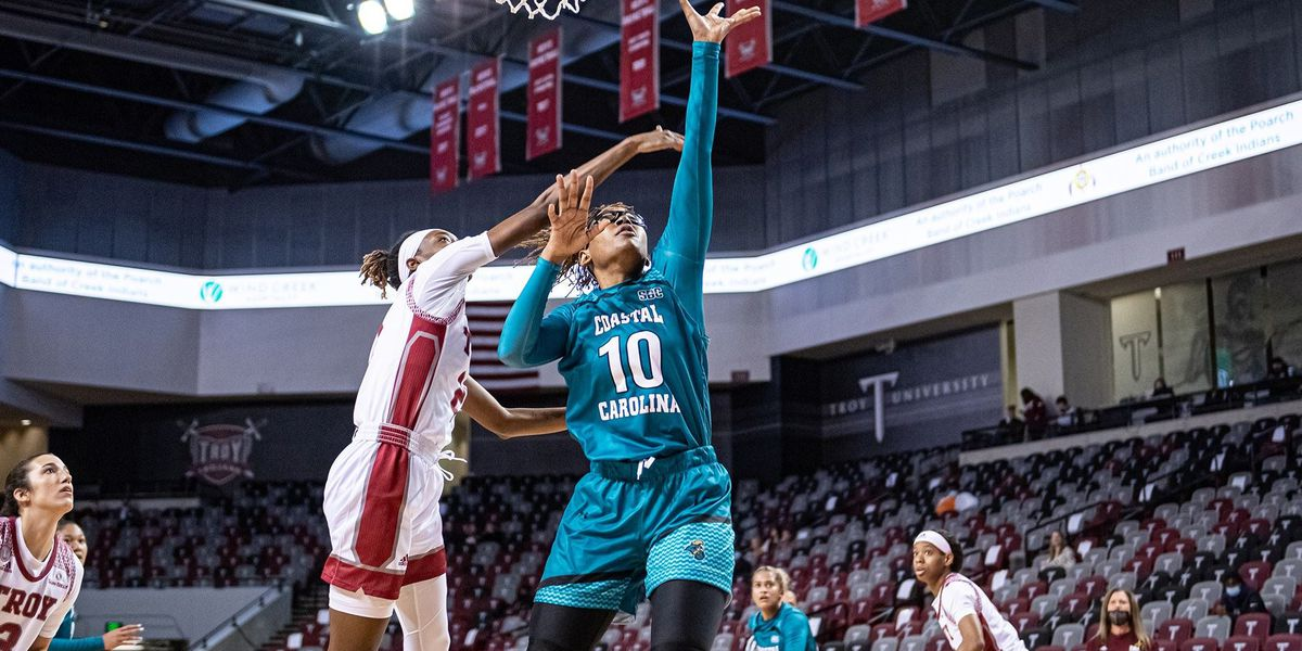 Coastal Women's Basketball falls on road at Troy