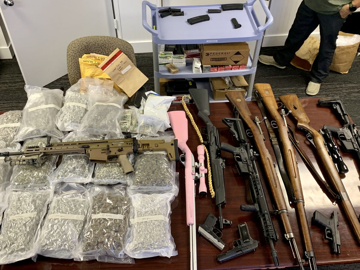Marijuana, guns, tens of thousands in cash seized in North Myrtle Beach bust; one arrested