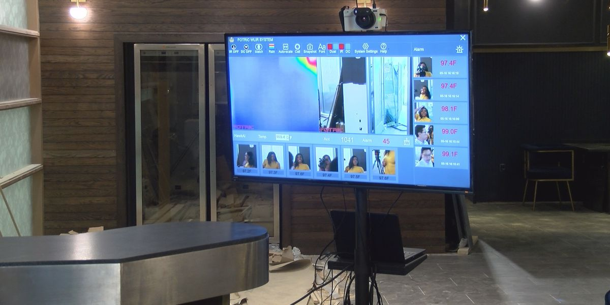 New uptown Charlotte restaurant to utilize thermal camera to check customer's temperature