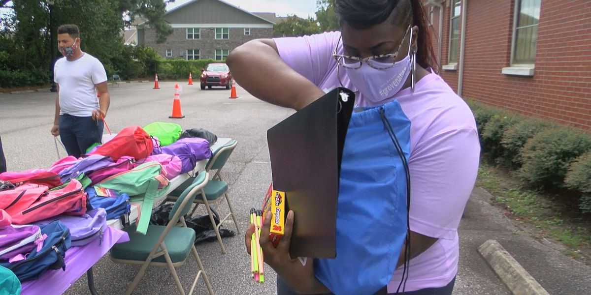 Myrtle Beach church hands out school supplies, hoping to help local students prepare