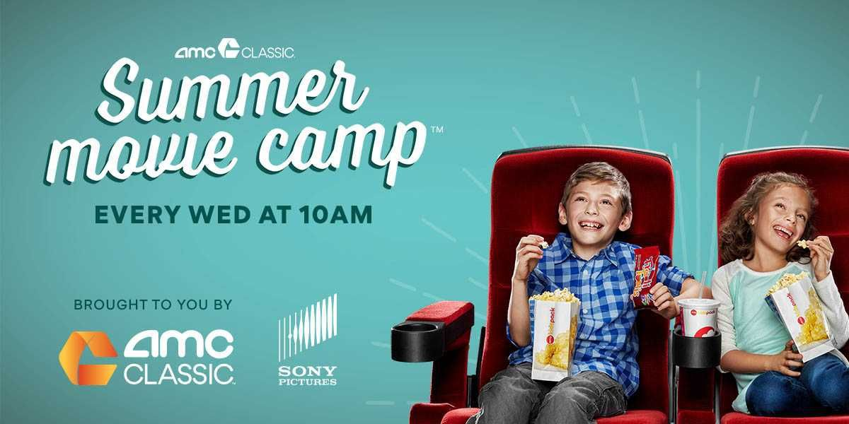 Enjoy a family favorite film with the AMC CLASSIC Summer Movie Camp