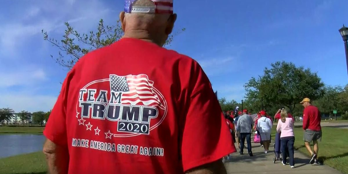 'We stand behind President Trump': Horry County Republicans march to support president