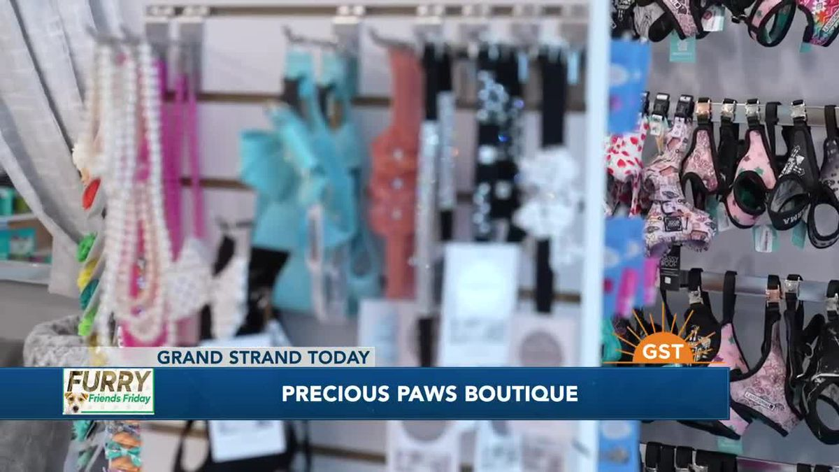 Furry Friends Friday with Precious Paws Boutique