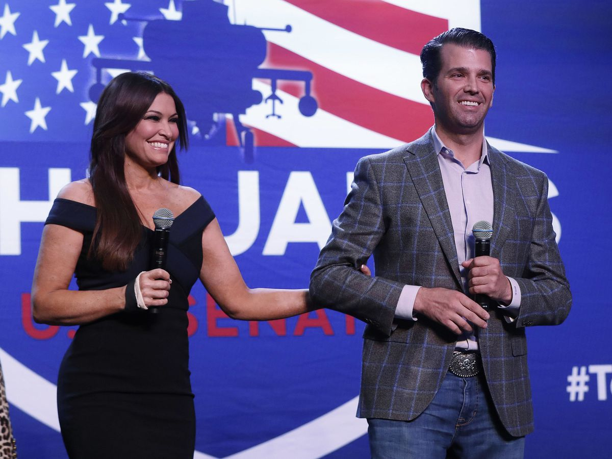 Kimberly Guilfoyle, Trump campaign official and Donald Trump Jr.'s girlfriend, tests positive for coronavirus