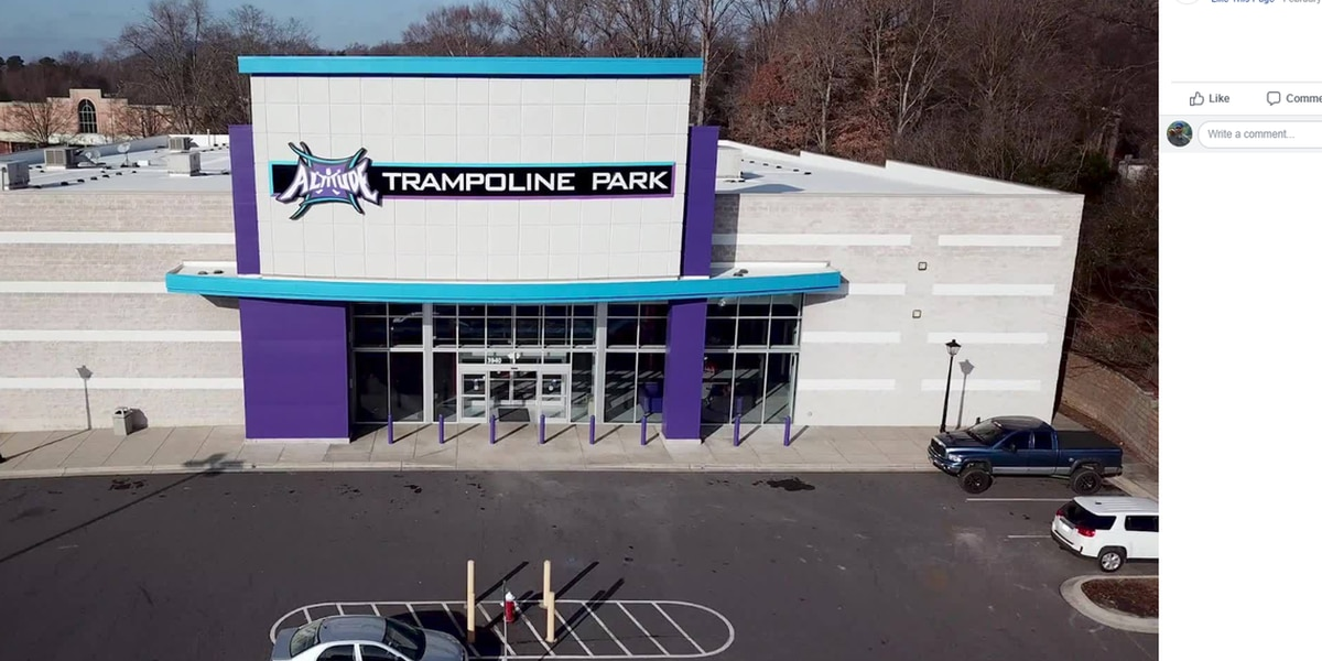 12-year-old boy dies after fall at trampoline park in Gaston County