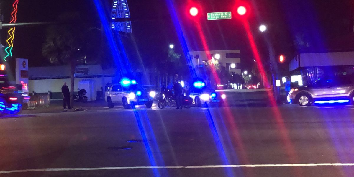 MBPD investigating shooting near downtown Myrtle Beach