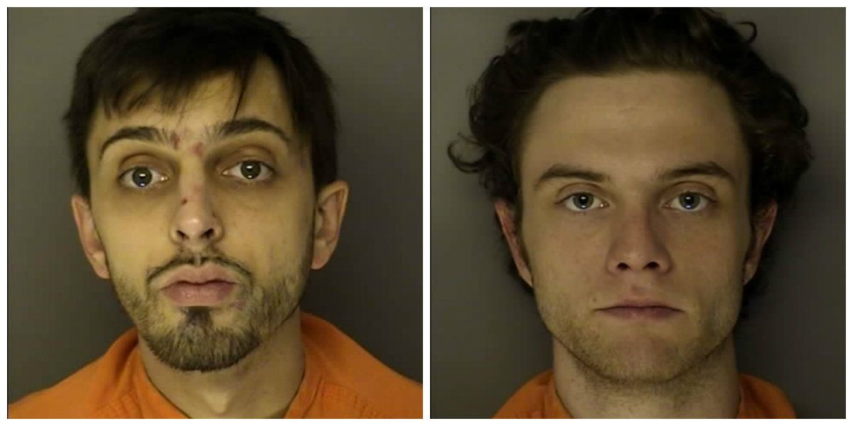 Two arrested on drug charges following traffic stop in police parking lot