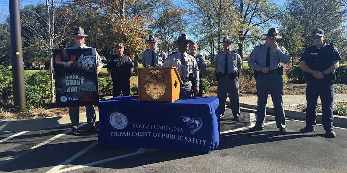 State troopers kick off 'Sober or Slammer' campaign ahead of holiday travel season