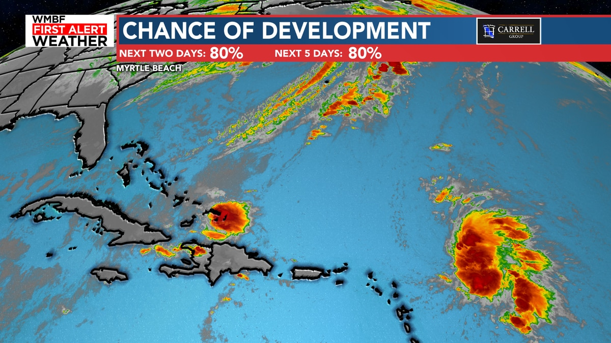 FIRST ALERT: High chance of development in the Atlantic