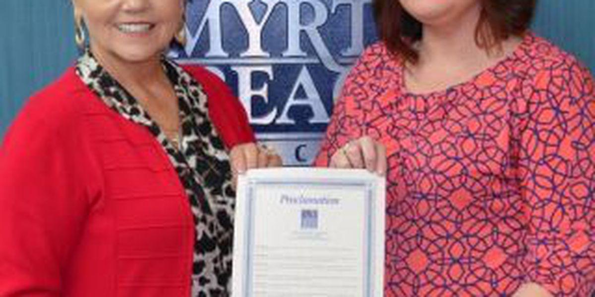 North Myrtle Beach recognizes National Runaway Prevention month
