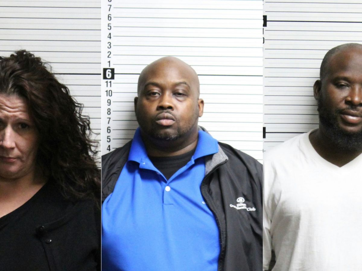 Myrtle Beach trio charged with meth trafficking in Brunswick County