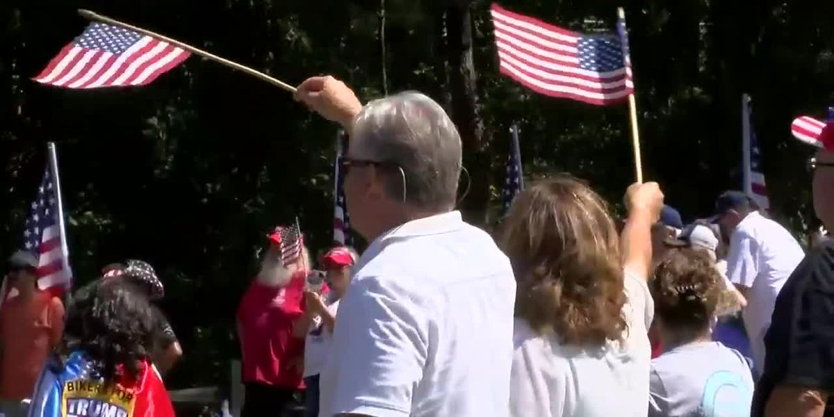 'Defend Your Police' rally held in North Myrtle Beach