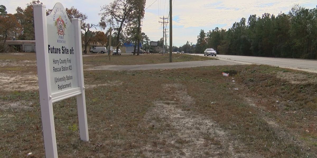 New Hwy. 544 fire station bids come in $400k over budget