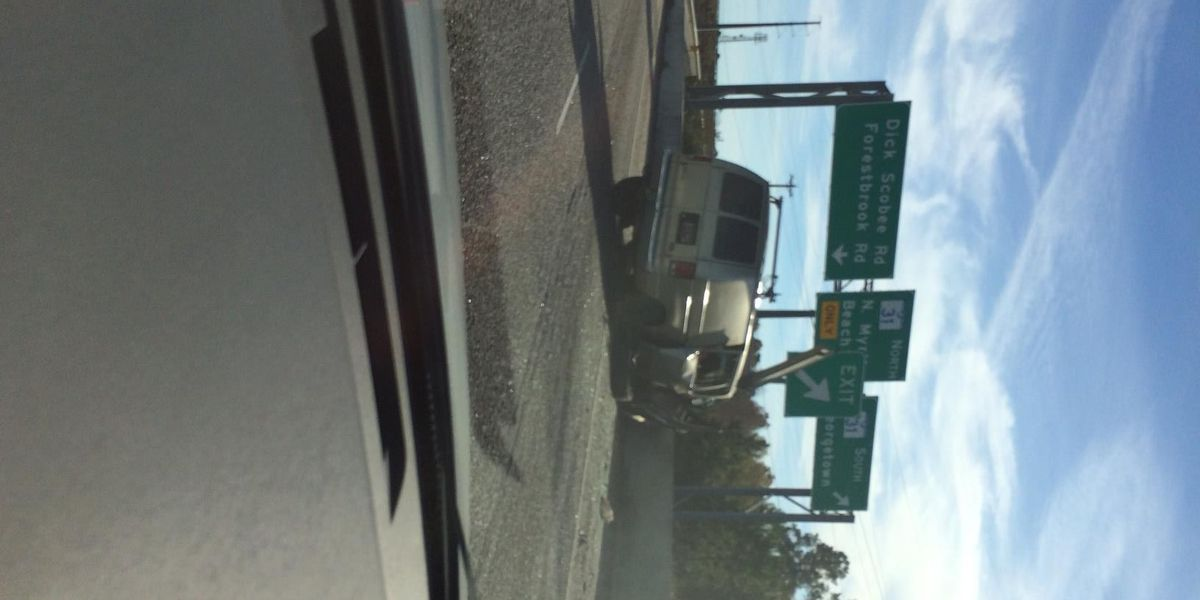 Accident leaves traffic slow on US-501 at SC-31