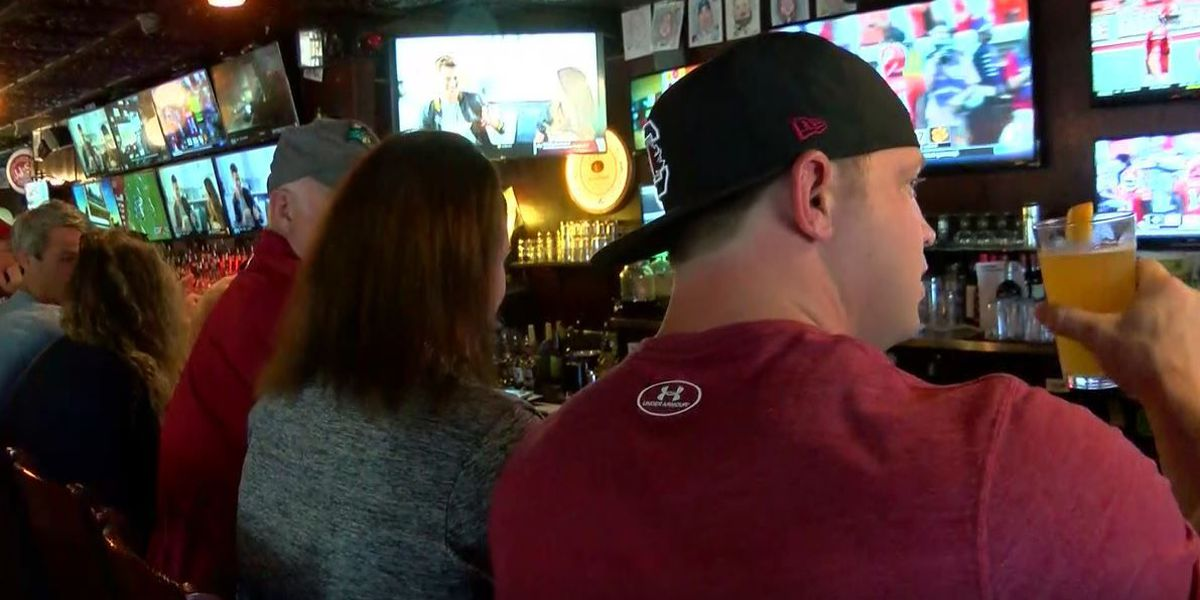 Businesses get a boost from college football kickoff