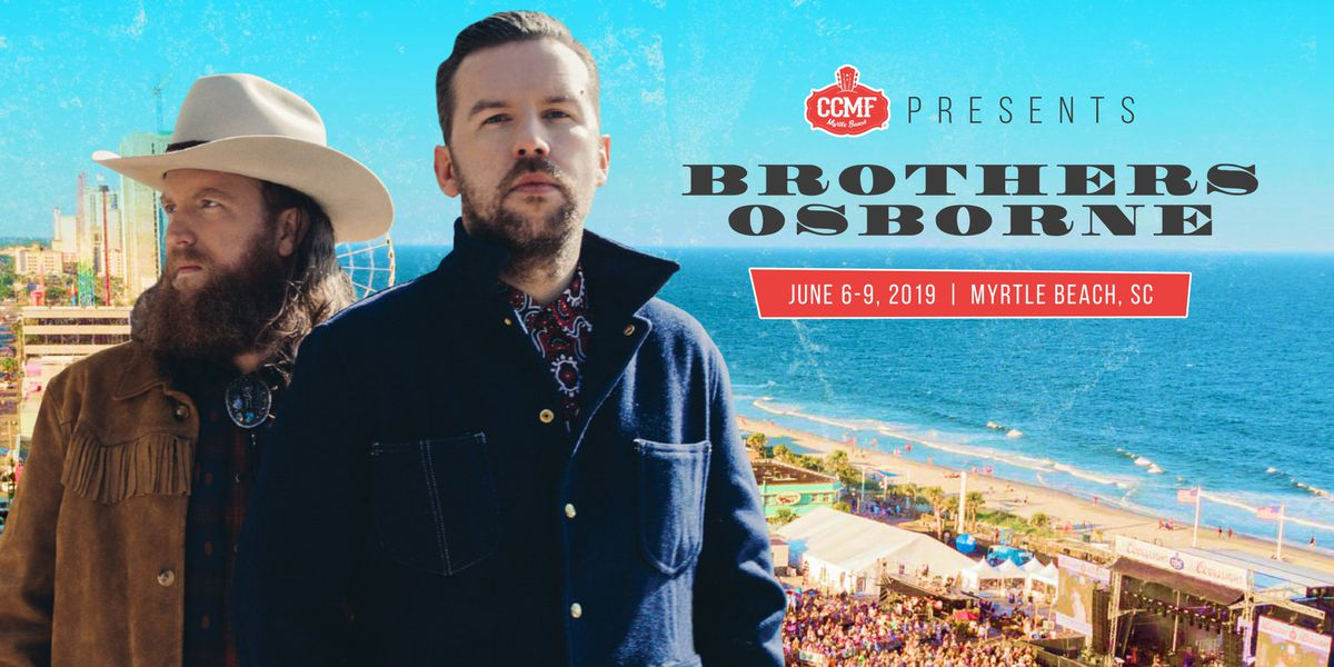 Brothers Osborne scheduled to perform at 2019 CCMF