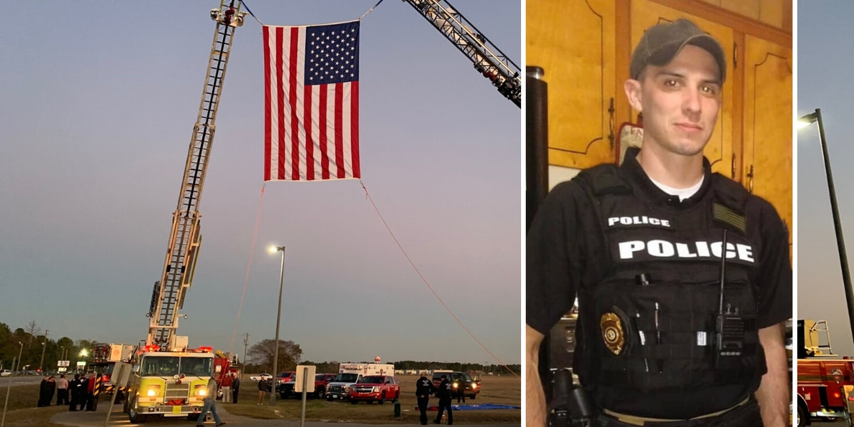 'You could always count on him': Pee Dee communities honor fallen airport officer