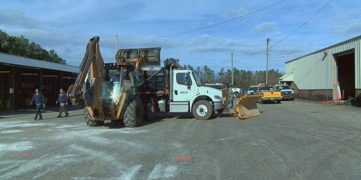 SCDOT prepares pre-treatment for roads in Horry County