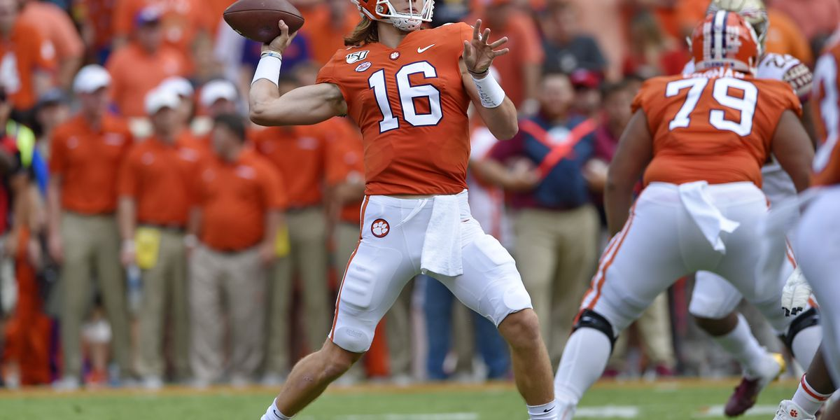 Clemson quarterback Trevor Lawrence gets engaged