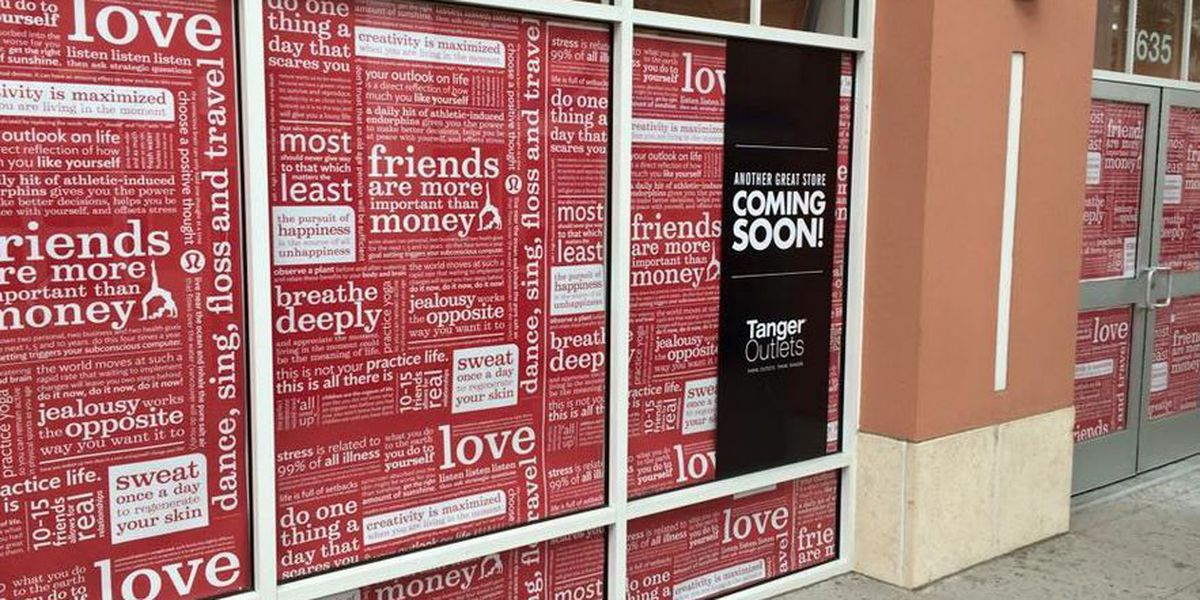 Lululemon to open at Tanger Outlets in Myrtle Beach