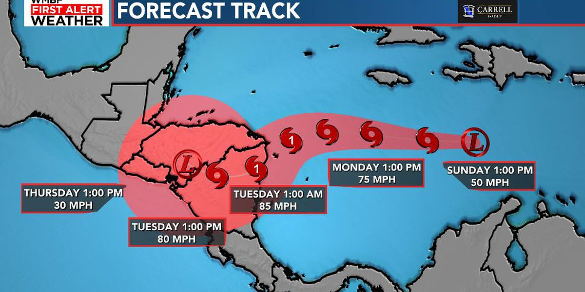 Tropical depression forms in Caribbean in busy storm season