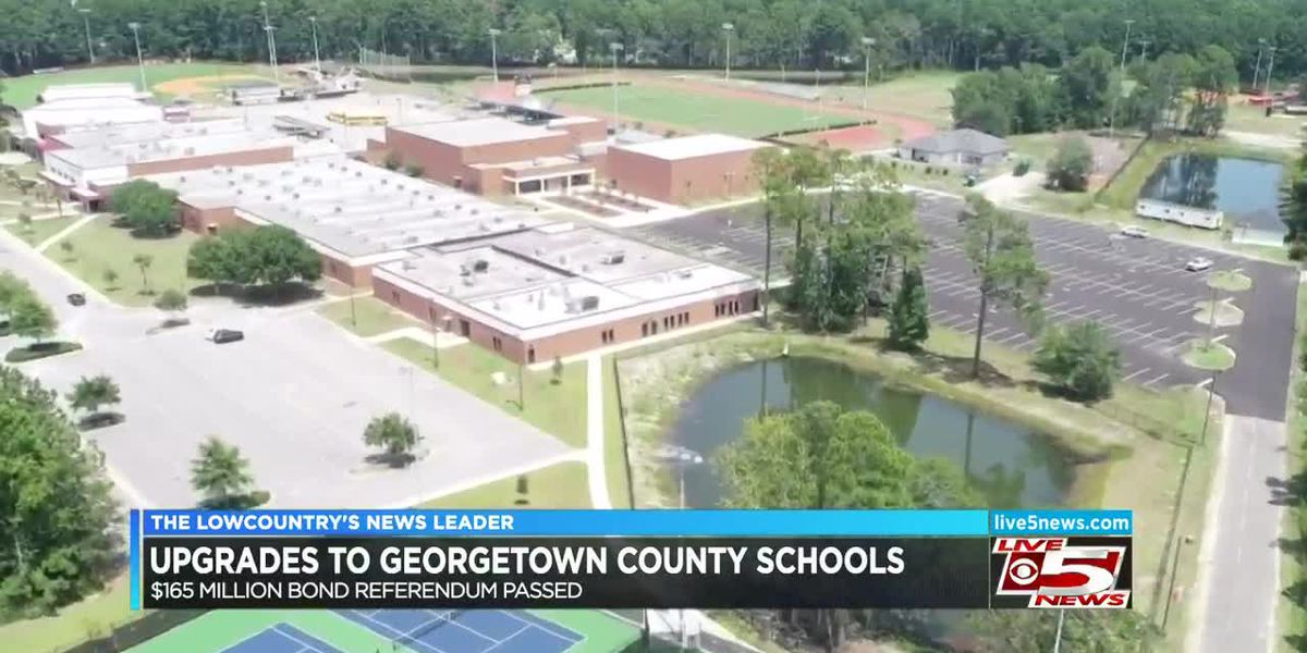 Georgetown Co. School District receives upgrades at schools with $165M bond referendum