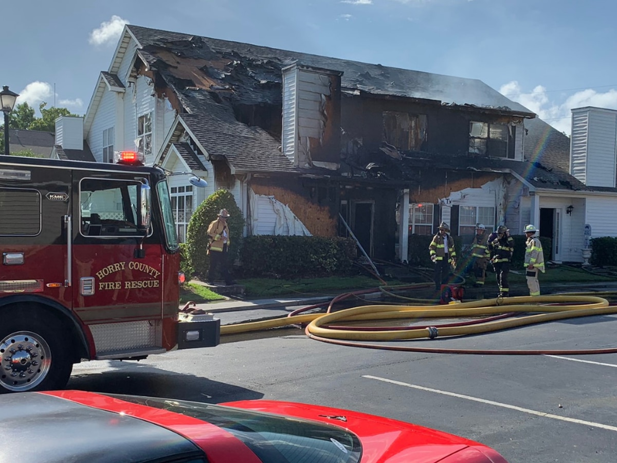 HCFR: Two-alarm fire heavily damages four units in condo complex