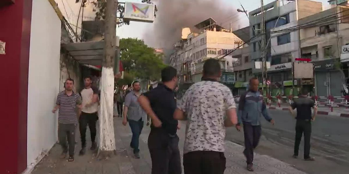 GRAPHIC: Death and destruction as Israel, Hamas conflict grows