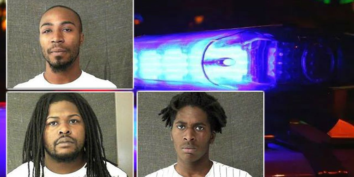 3 men arrested after chase with deputies ends in crash